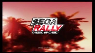 "SEGA Rally Online Arcade ""демо геймплей"""