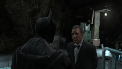 "Batman: Arkham Origins ""Рождественский Альфред"""
