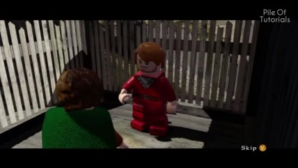 Пасхалки в LEGO The Lord of the Rings [Easter Eggs]