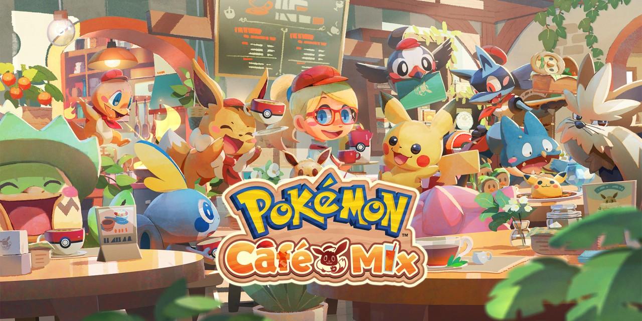 Состоялся релиз Pokemon Cafe Mix