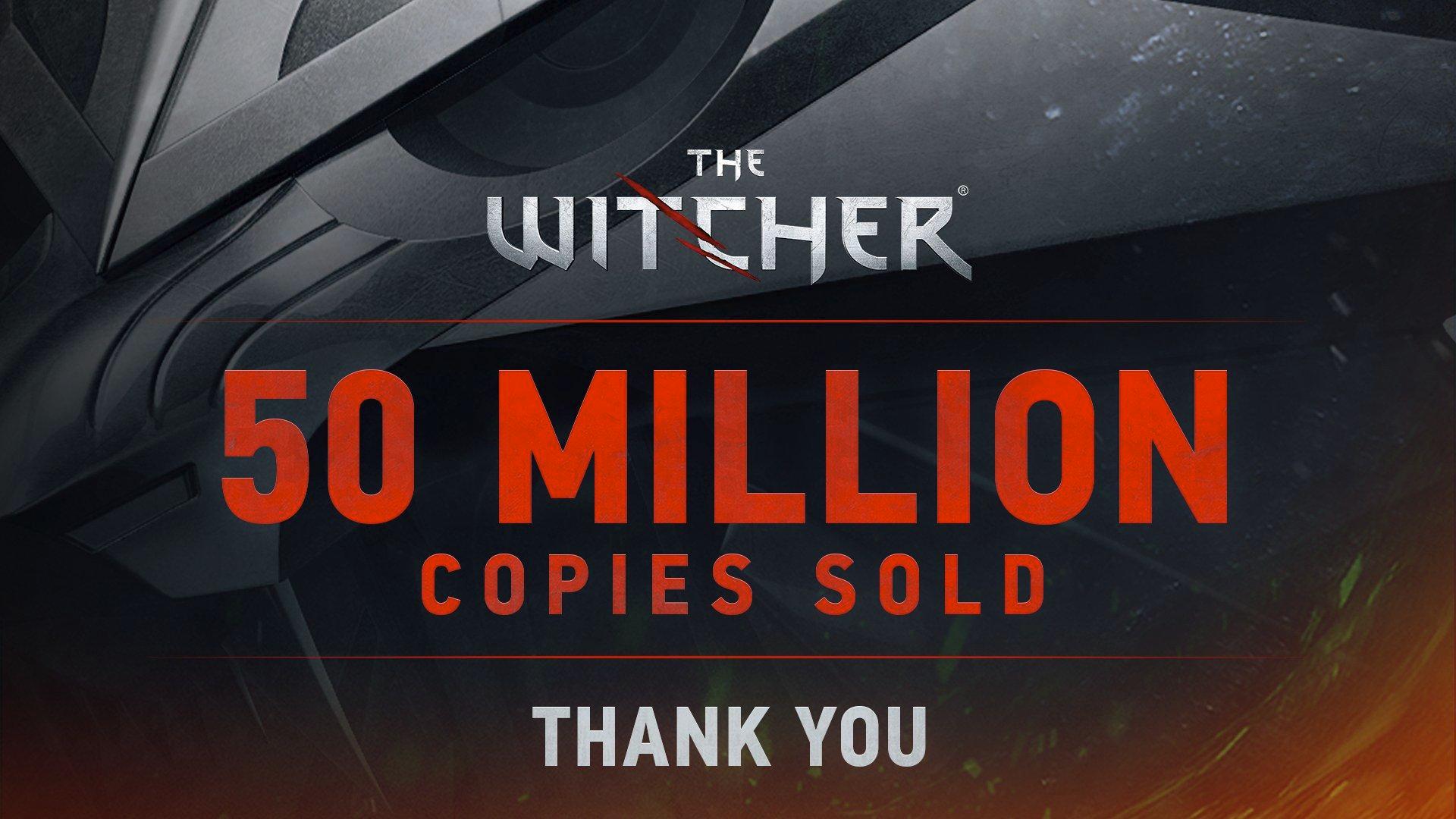 Продано 50 миллионов копий игр серии The Witcher