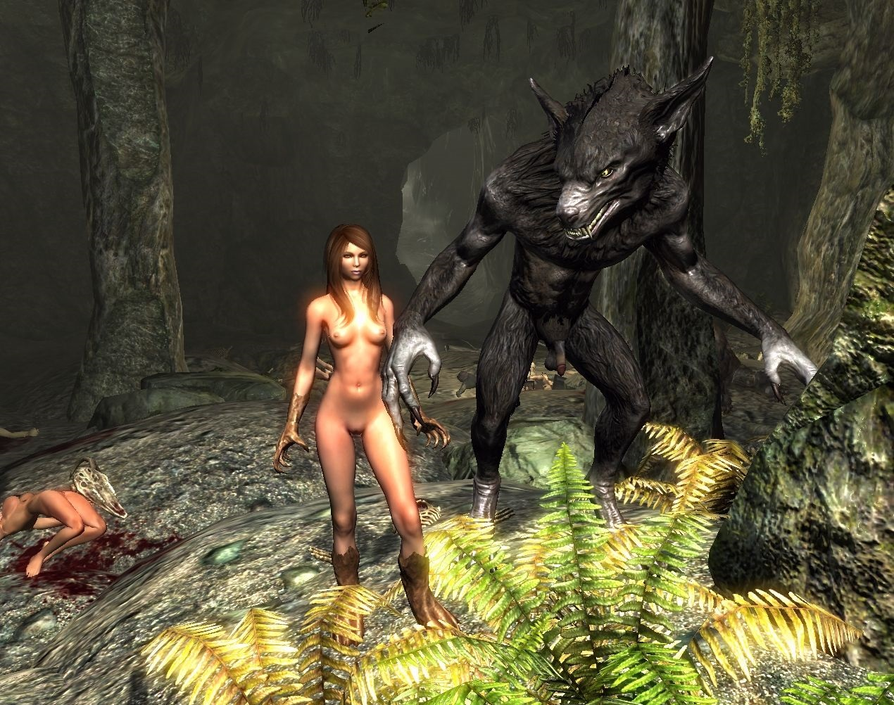 Эро мод секса для skyrim