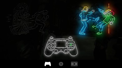 The Quiet Man - управление героем на контроллере PS4