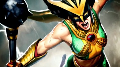 "Infinite Crisis ""новый герой – Hawkgirl"""