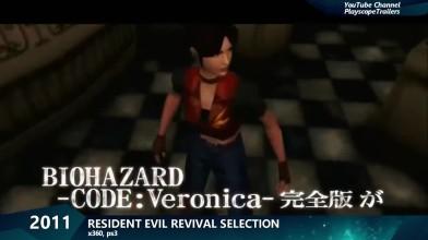 Эволюция серии игр Resident Evil 1996-2019