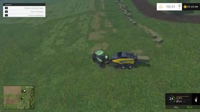 """Farming Simulator 15 """"Волшебный тюковщик"""""""