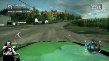 Батл с мафией в Чикаго Need for Speed: The Run на руле Fanatec Porsche GT2