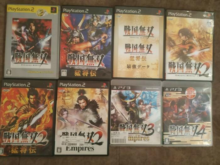 Samurai Warriors(Sengoku Musou) NTSC-J PS2-PS3