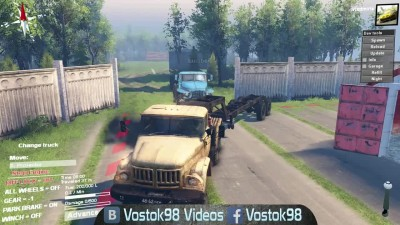 Spintires Full Version - ЗИЛ 137 и Урал 380С