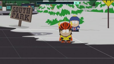 Битва с 3 боссом в South Park: The Fractured But Whole