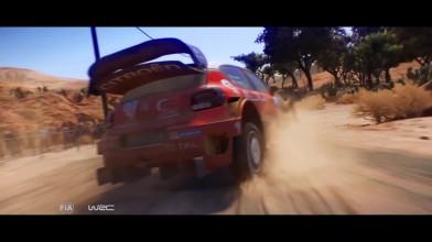 Геймплейный трейлер раллийного симулятора WRC 7