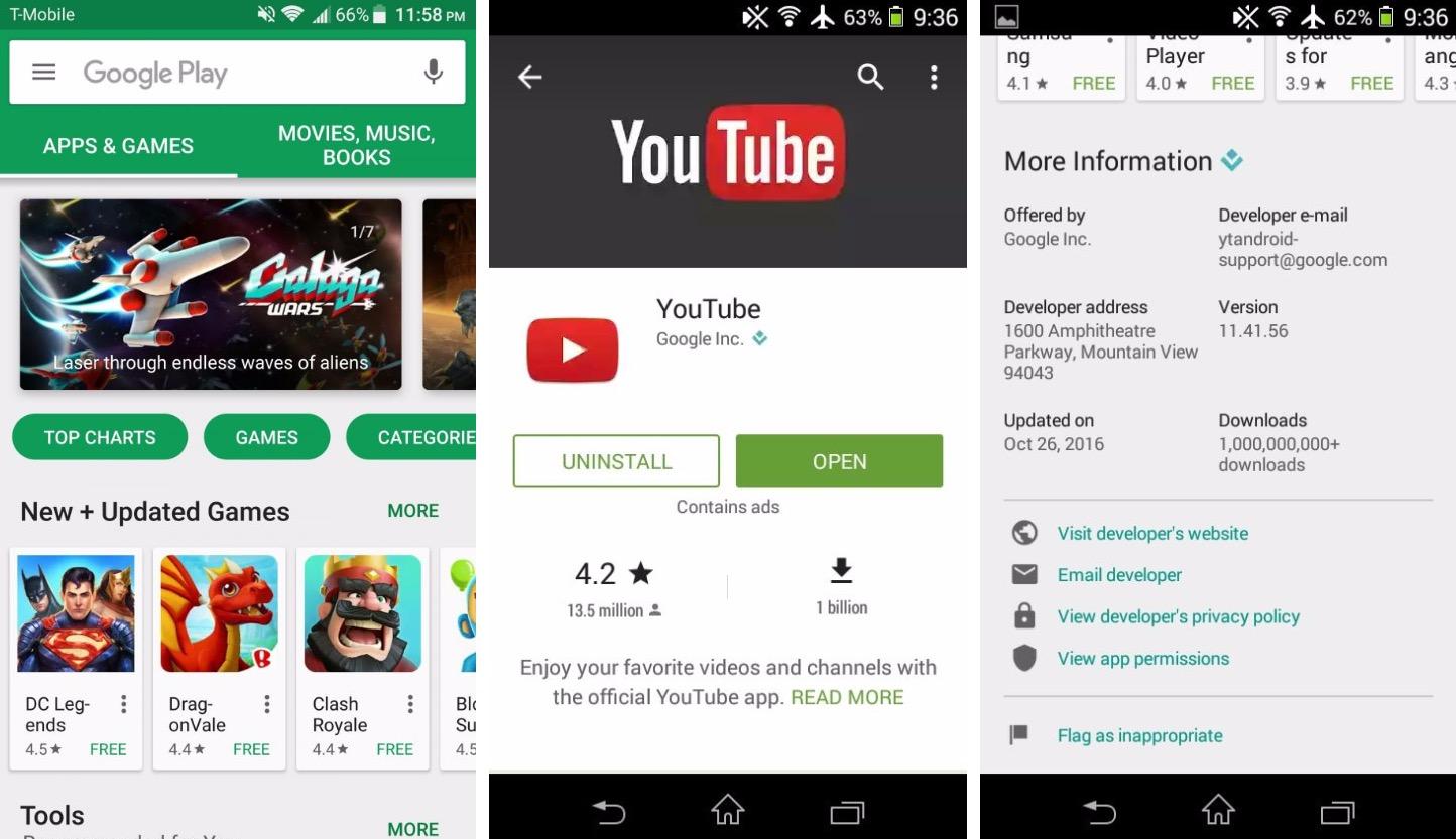 ВGoogle Play найдены замаскированные вирусы