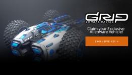Забирай уникальный гоночный болид для GRIP!