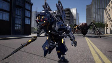 Новые снимки экрана Earth Defense Force: Iron Rain в 4K
