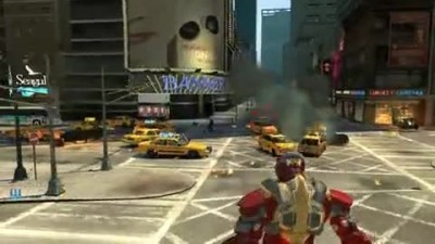"Grand Theft Auto 4 ""Модификация Iron Man 3, Mark XVII Armor"""
