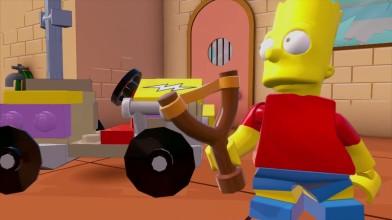 Трейлер Барта Симпсона для LEGO Dimensions.