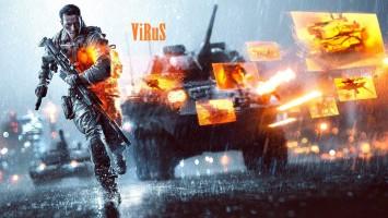 Battlefield 4 на PC от лица ViRuSa))