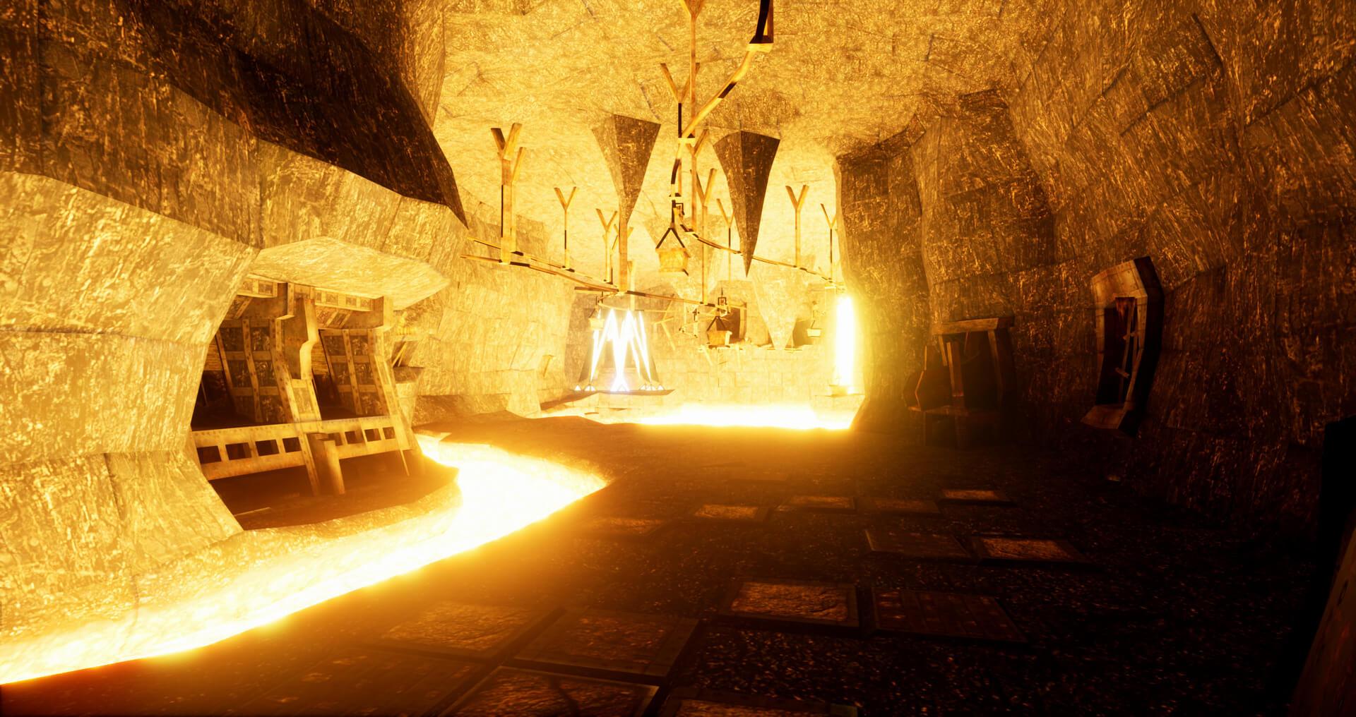Новые скриншоты фанатского ремейка Arx Fatalis на Unreal Engine 4