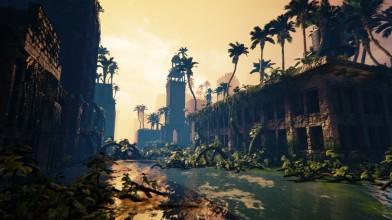10 минут геймплея приключенческой игры Submerged