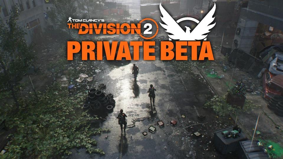 В тестовой версии The Division 2 появился высокоуровневый контент