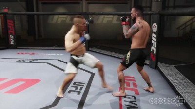 "EA Sports UFC 2 ""CM Punk, B.J. Penn, and Royce Gracie"""