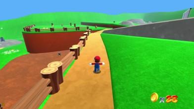 Super Mario 64 на движке Unity