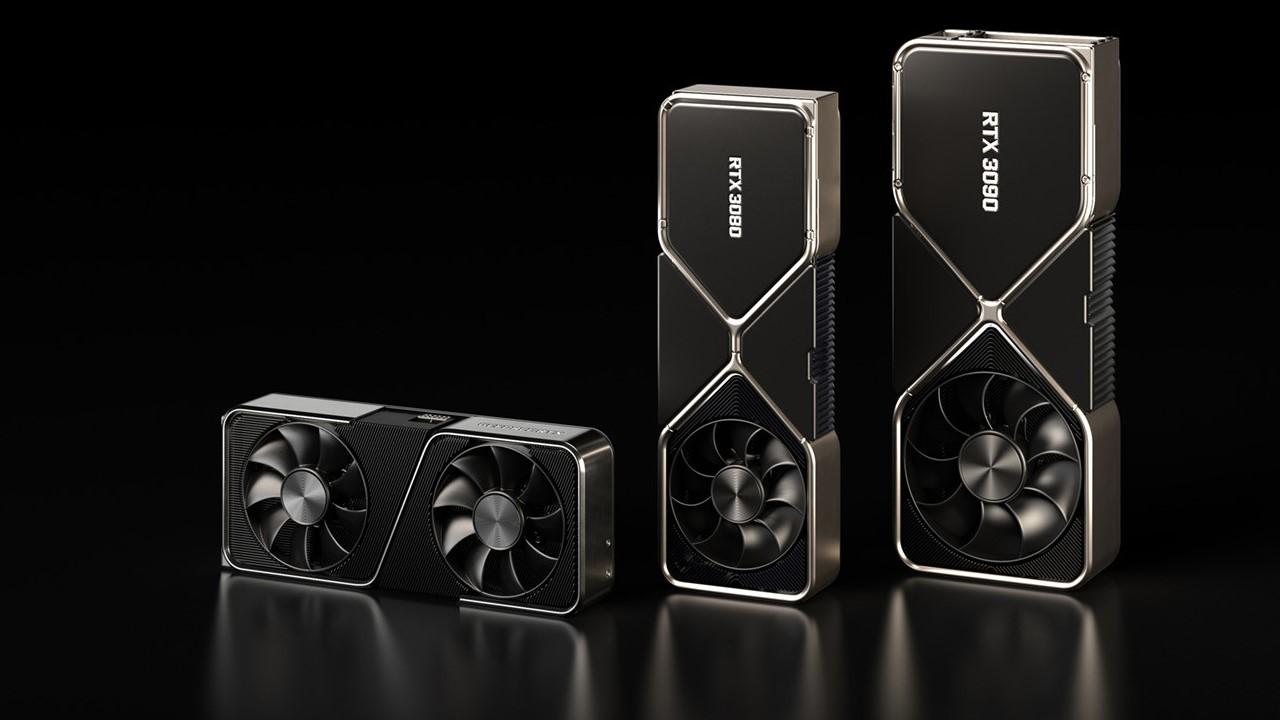 Новую партию NVIDIA GeForce RTX 3070, 3080 и 3090 уже перепродают с большими наценками