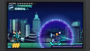 Shovel Knight CAMEO Gunvolt 2