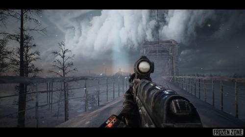 """""""Frozen Zone"""" теперь самостоятельный проект на Unreal Engine 4"""