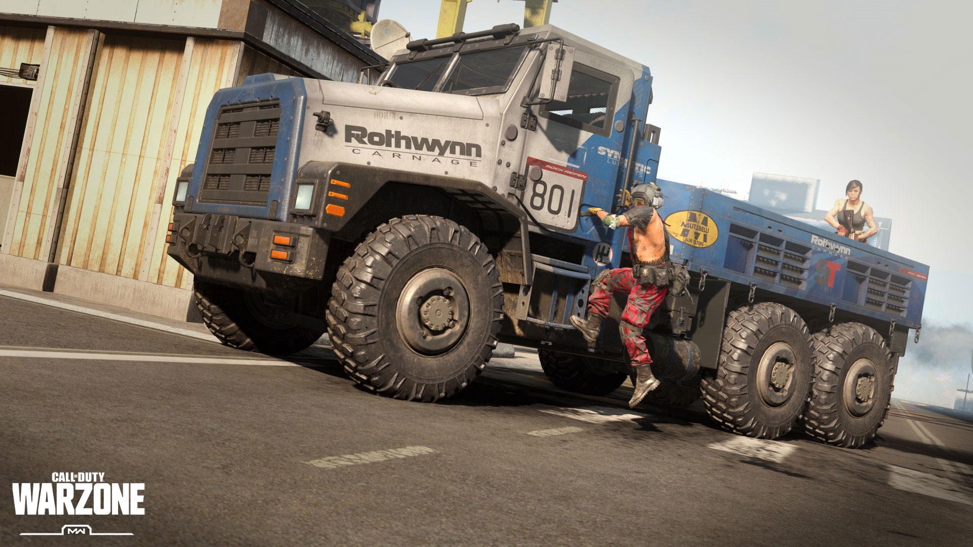 Грузовики ушли из соло режима Call of Duty: Warzone