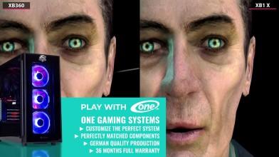 Half Life 2 - Сравнение Xbox 360 vs. Xbox One X 4K (Candyland)