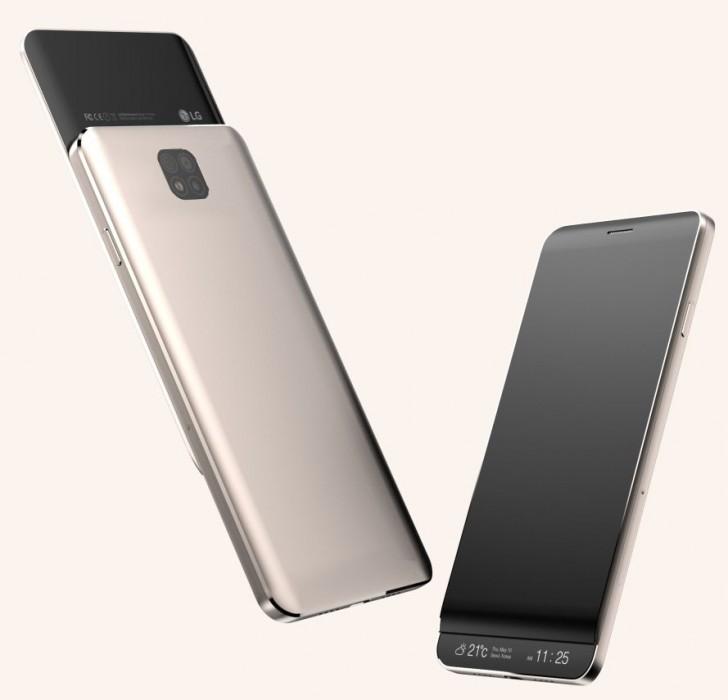 СмартфонLG V30 получит 2 экрана и2 тачскрина