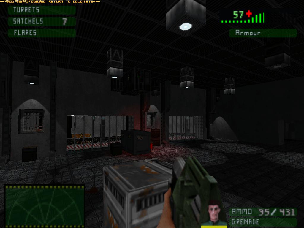 Aliens Eradication - это игра на выживание с 8 картами для GZDoom, доступна для скачивания