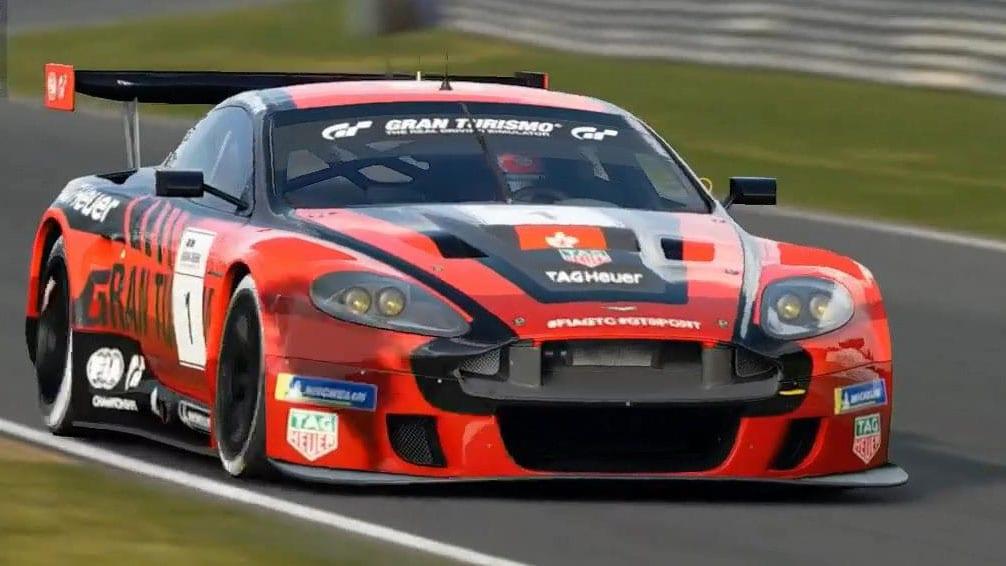 Aston Martin DBR9 появится Gran Turismo Sport