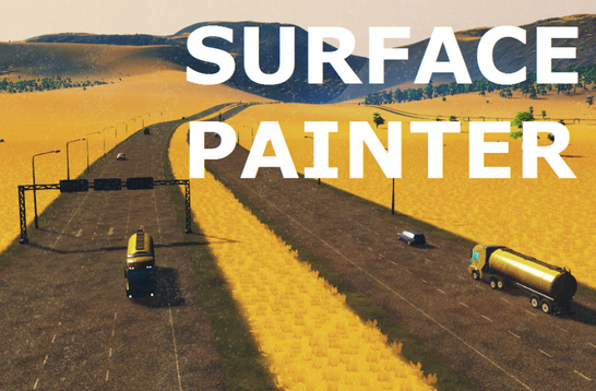 скачать мод для cities skylines surface painter