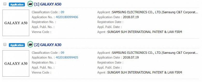 Samsung переименует смартфоны серии Galaxy A