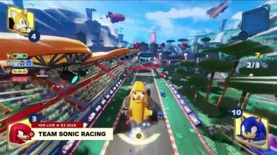 10 минут геймплея Team Sonic Racing
