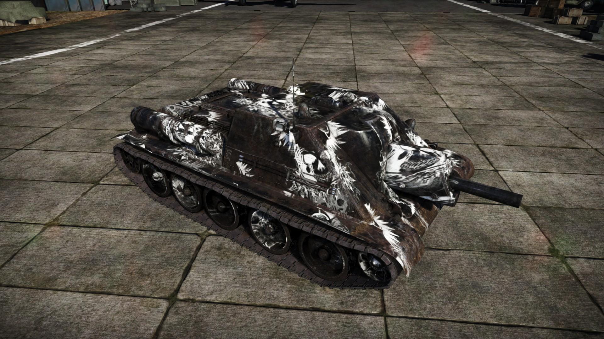 вар тандер танки су 122