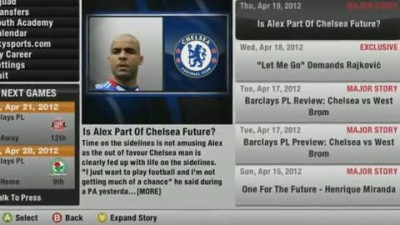 "FIFA 12 ""Career Mode - Morale & Form Trailer"""