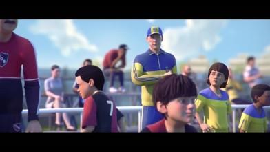 Лионель месси - путь к успеху (Анимация чемпионат мира по футболу)