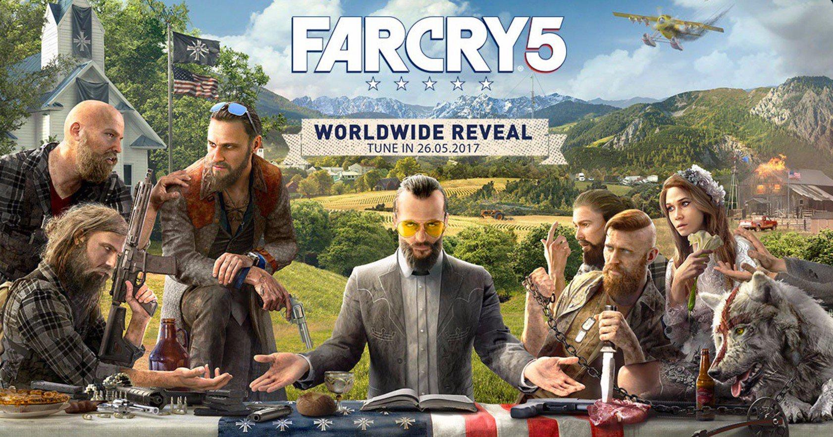 Компания Ubisoft назвала дату выхода Far Cry 5, аеще представила трейлер