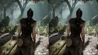 Hellblade - параллель версий чтобы PS4 равным образом PS4 Pro