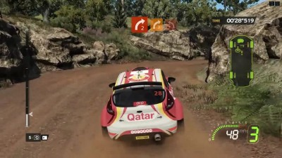 "WRC 5 FIA World Rally Championship ""Геймплей на PC"""