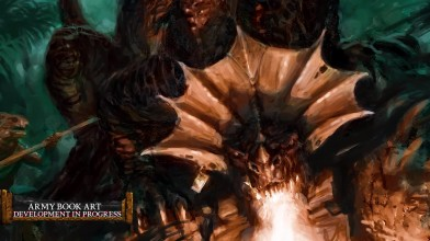 Total War: Warhammer II посвящён обычным и древним саламандрам