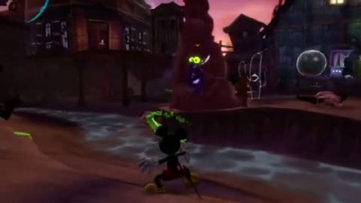 "Disney Epic Mickey 2 ""Paint and Thinner Gameplay"""