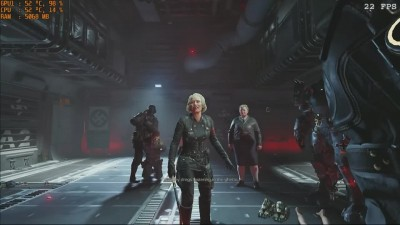 Wolfenstein II The New Colossus на ультрабуке