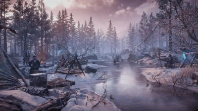 Новый трейлер дополнения Horizon Zero Dawn:The Frozen Wilds