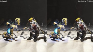 ReCore: Original vs Definitive Edition Xbox One S Сравнение графики
