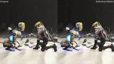 ReCore: Original vs Definitive Edition Xbox One S Сравнение графики