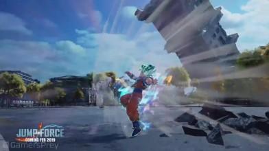 Геймплейный трейлер Jump Force